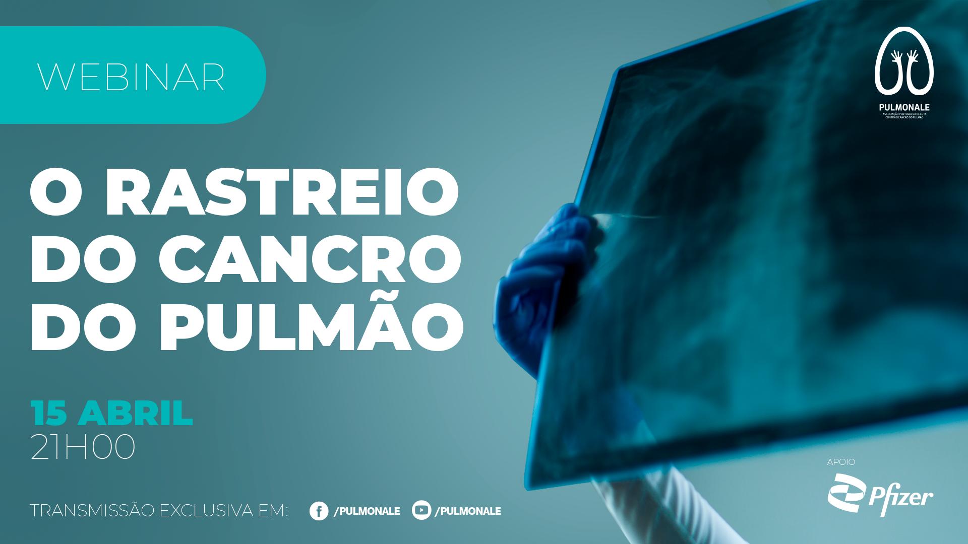 Webinar - Rastreio do Cancro do Pulmão
